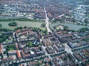 København fra luften
